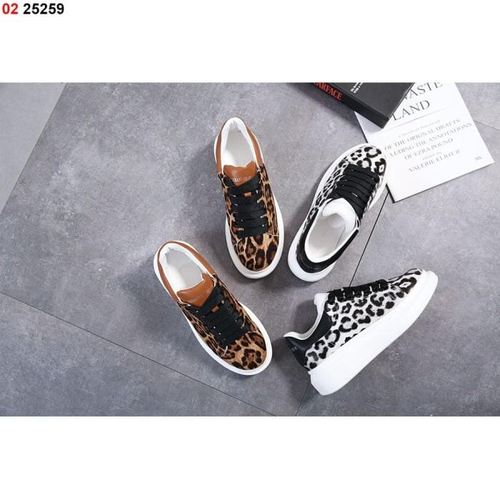 Jual Sepatu Alexander Mcqueen Leopard 25259 Vs Kota Batam