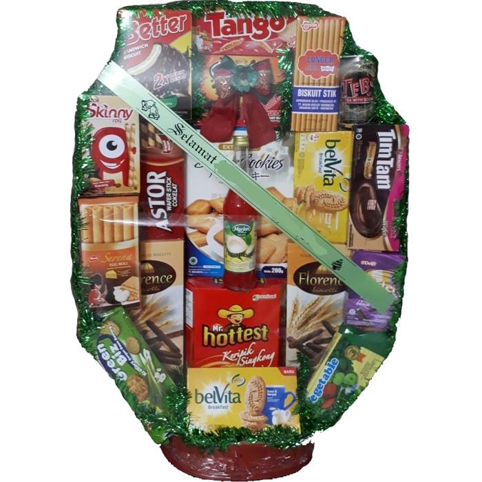 Parcel snack parsel lebaran hampers idul fitri natal tahun baru - l