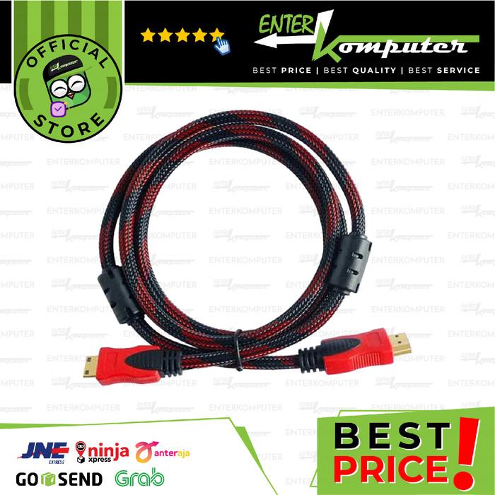 Foto Produk Broadlink Kabel HDMI To HDMI 5 Meter - Version 1.4 - High Quality dari Enter Komputer Official