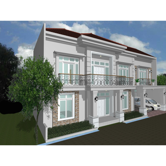 102+ Gambar Rumah 2 Lantai HD