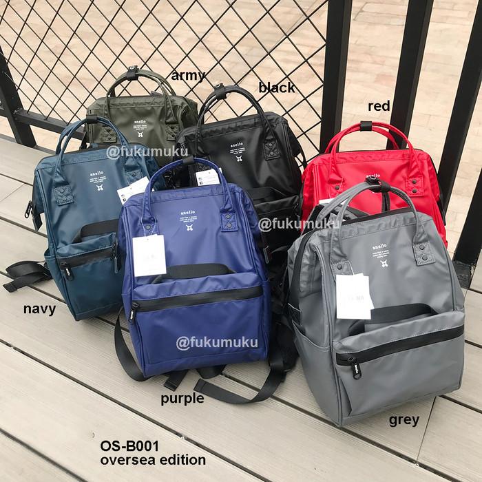 Foto Produk NEW Anello Oversea Backpack OEM OS-B001 / Tas Sekolah / Ransel Anello dari Fukumuku Store