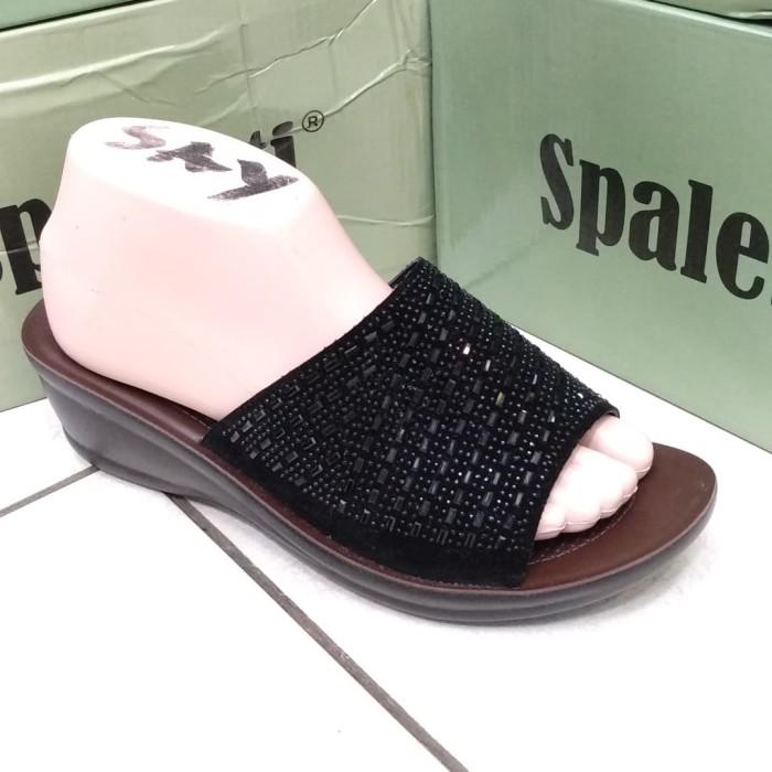harga Spaletti sandal import wanita cewek sepatu wadges flat heels Tokopedia.com