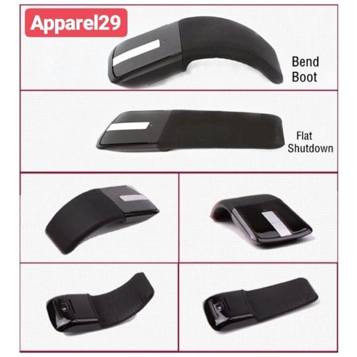 Foto Produk Mouse Arc Touch Wireless Microsoft Replica Folding Mouse Lipat dari apparel29