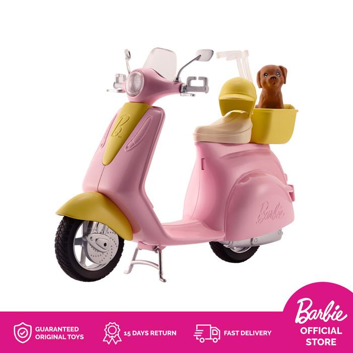 harga Barbie scooter sepeda motor boneka mainan anak perempuan Tokopedia.com