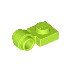 LEGO Lot of 2 Translucent Neon Green 1x4 Car Vehicle Headlight Bricks
