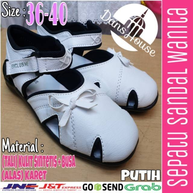Foto Produk Perlengkapan Haji Dan Umroh Sepatu Sandal Wanita Exclusive Grosir Mura dari artatikashop
