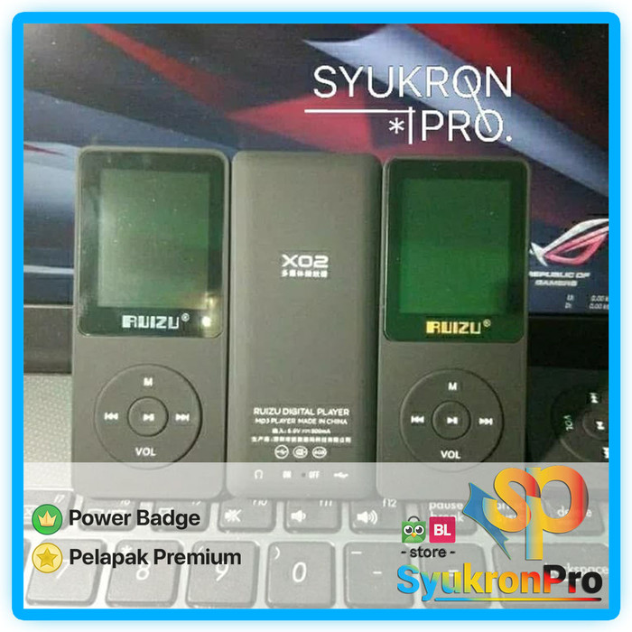Jual NEW Ruizu X02 MP3 Player DAP Hifi Lossless M4A WAV FLAC MP4 4GB - Kota  Semarang - SyukronPro | Tokopedia