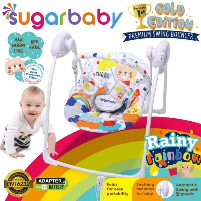 Sale Swing Bouncer Sugar Baby - Gold Edition