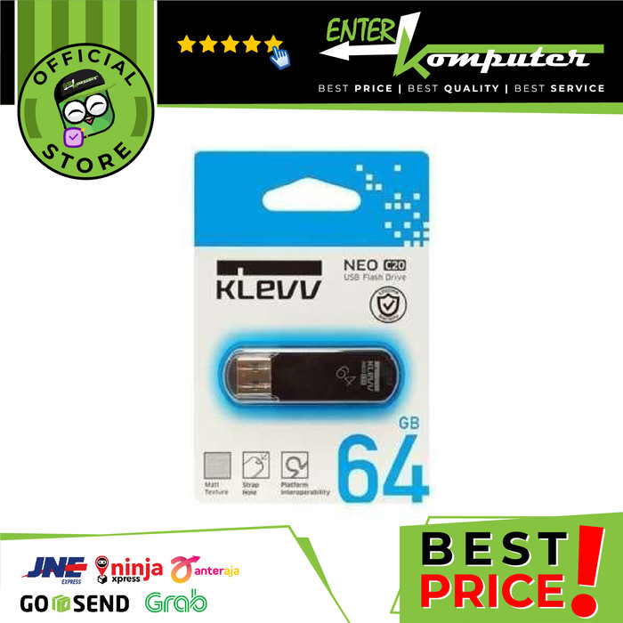 Foto Produk (Flashdisk) KLEVV NEO C20 64GB USB2.0 - U064GUR2-NB dari Enter Komputer Official