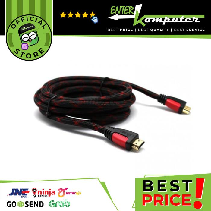Foto Produk Kabel HDMI To HDMI 3 Meter dari Enter Komputer Official