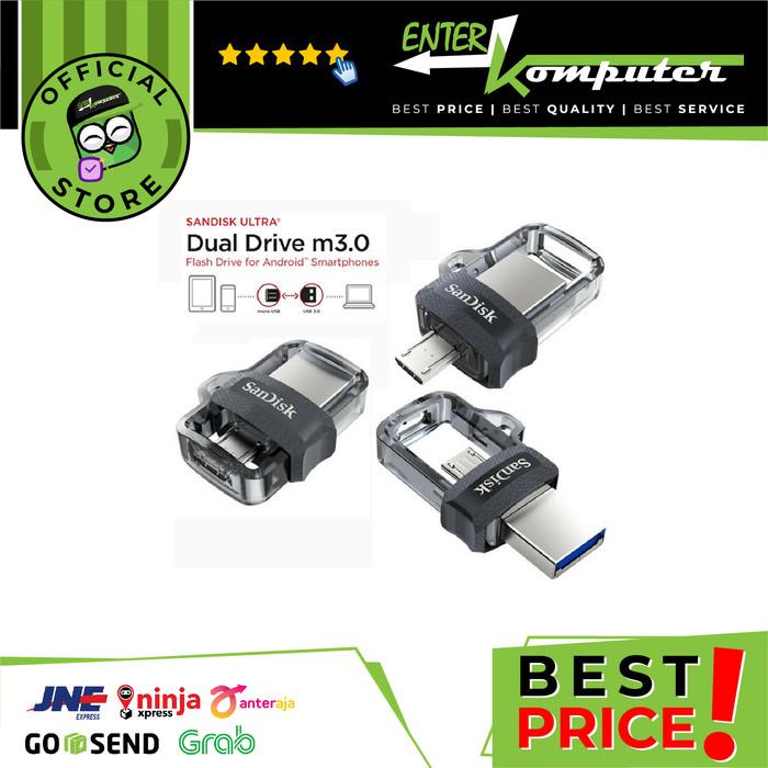 Foto Produk Sandisk Ultra Dual Drive OTG 256GB USB m3.0 - SDDD3-256G dari Enter Komputer Official