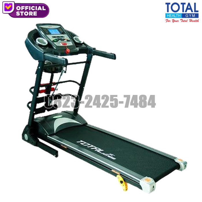 harga Treadmill elektrik tl 8600 manual incline motor 2 hp Tokopedia.com
