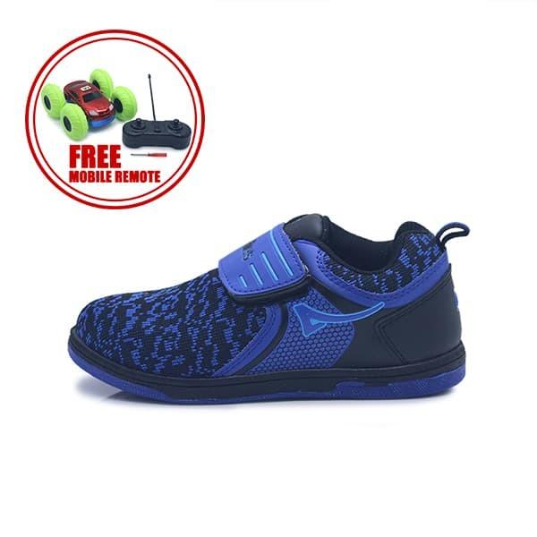 harga Ardiles kids dna sepatu sekolah anak - biru hitam - 35 Tokopedia.com