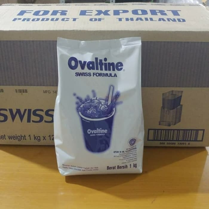 Foto Produk Ovaltine Swiss 1kg (Khusus Gojek/Grab) dari Blue Shop2