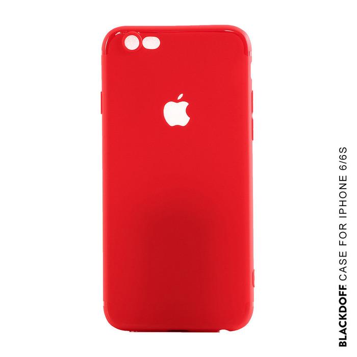 Foto Produk FOR IPHONE 6/6S - SOFT CASE SILICON BLACKDOFF WARNA MERAH DOFF dari LauraStore