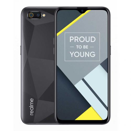harga Realme c2 3gb/32gb - diamond black Tokopedia.com