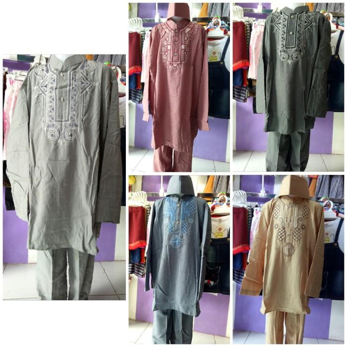 Baju koko pakistan jumbo / baju muslim jubah / set koko anak