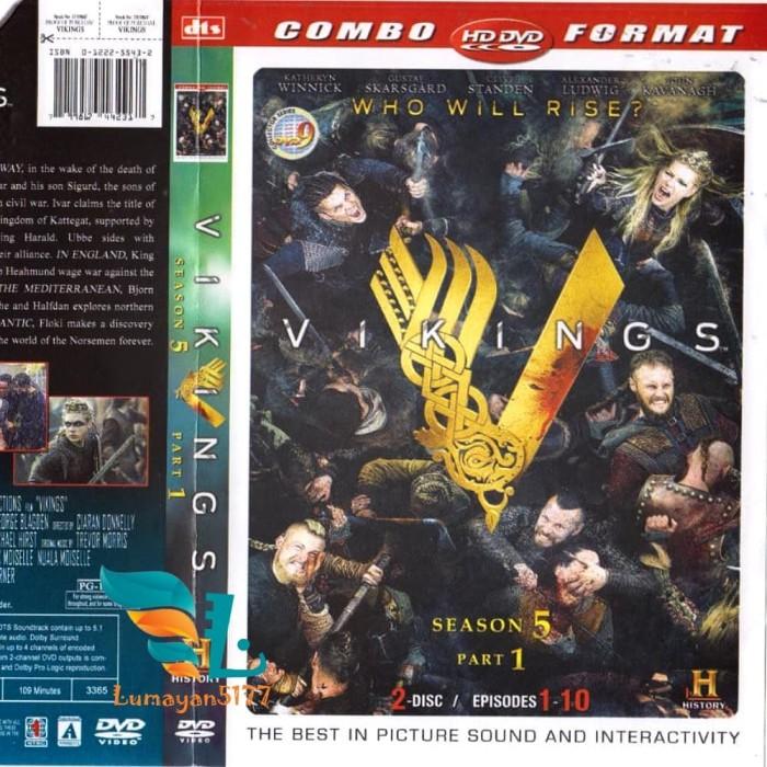 Jual DVD Series Tv : Vikings Season 5 part 1&2 (4disc) - Jakarta Timur -  Lumayan5177 | Tokopedia
