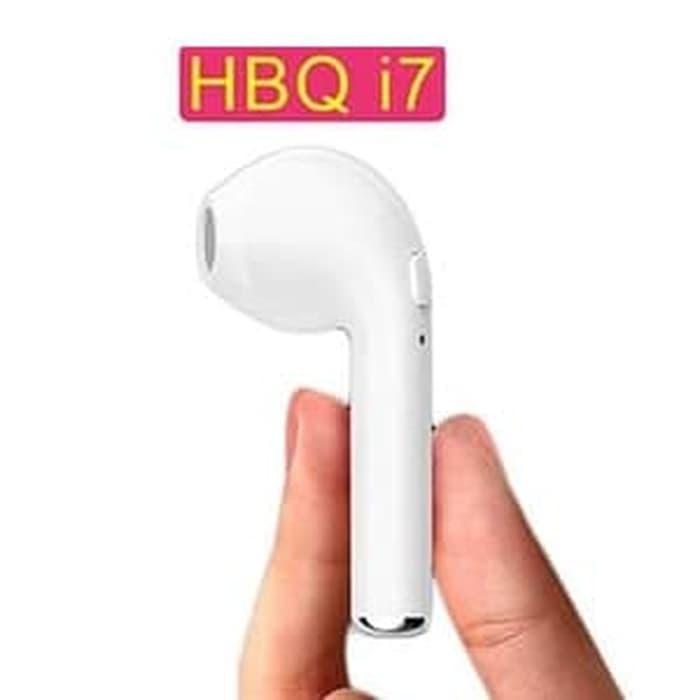 Jual Headset Handsfree Earphone Bluetooth Wireless Mic Stereo Hbq I7 Jakarta Utara 08 Stores Tokopedia