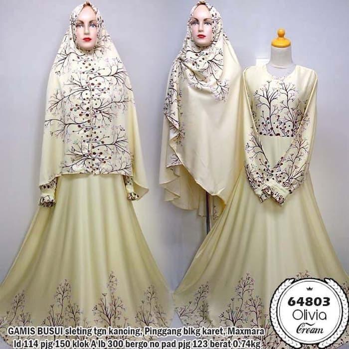 Jual Baju Syar I Gamis Olivia Murah Baju Muslim Wanita Pesta Dress Busui Jakarta Timur Adf Bintang Tokopedia
