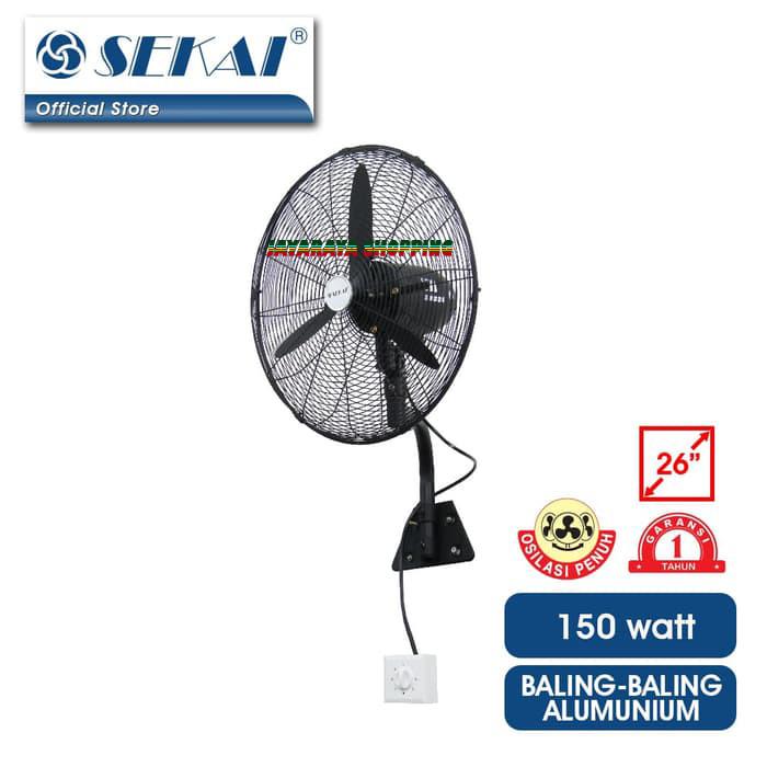 Jual Kipas Angin Dinding Wall Fan Sekai 26 U0026quot  Industrial Fan