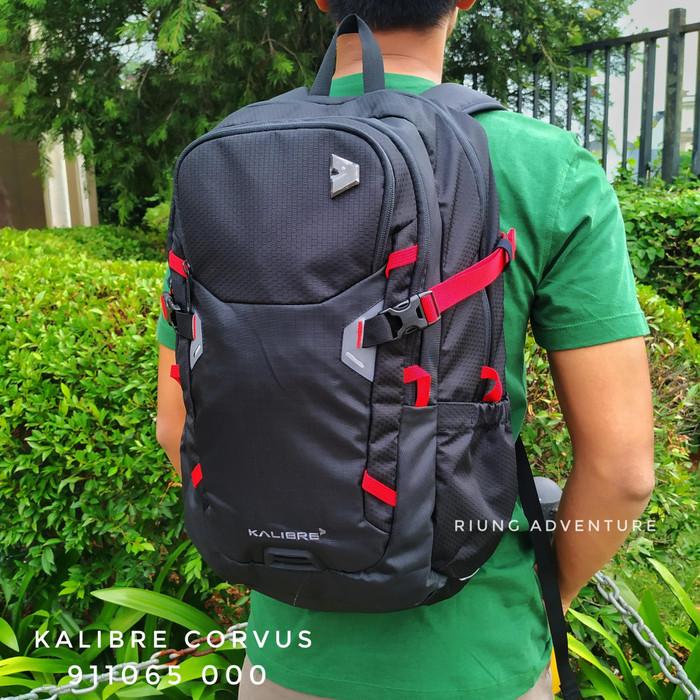Foto Produk Tas Ransel laptop Kalibre 910650 Corvus Black Original dari Riung Adventure