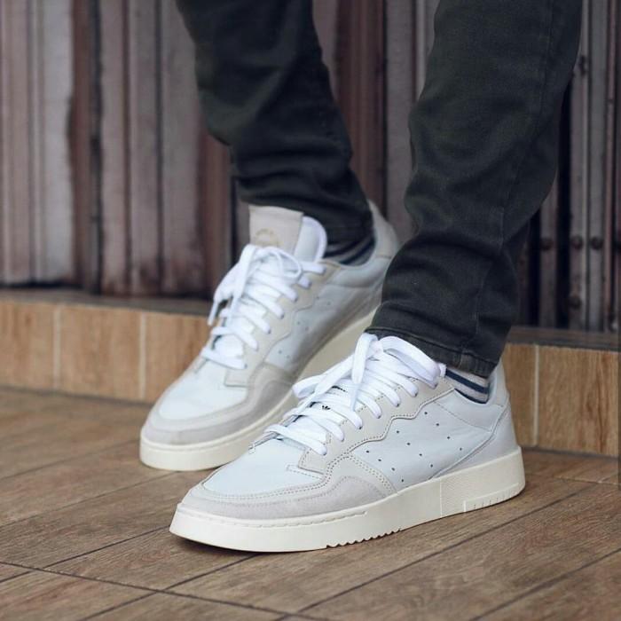 Jual Sepatu Adidas Supercourt Whitecalkgold 36 44 Original Bnwb