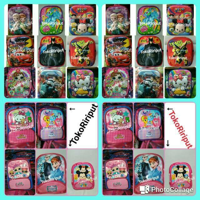 Jual Terbaru Tas Ransel 3d Gambar Tsum Tsum Hello Kitty Frozen Kuda Poni Jakarta Barat Produkmurah01 Tokopedia