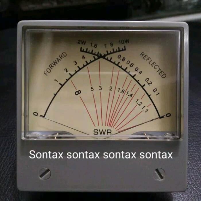 SZ-70 Panel Dual SWR Forwad Reflected VU Meter 100uA