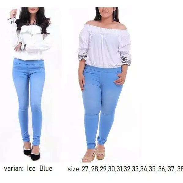 Jual Nengqori02 Share 0 Celana Legging Jeans Big Size Leging Wanita Kab Bandung Nengqorii02 Tokopedia