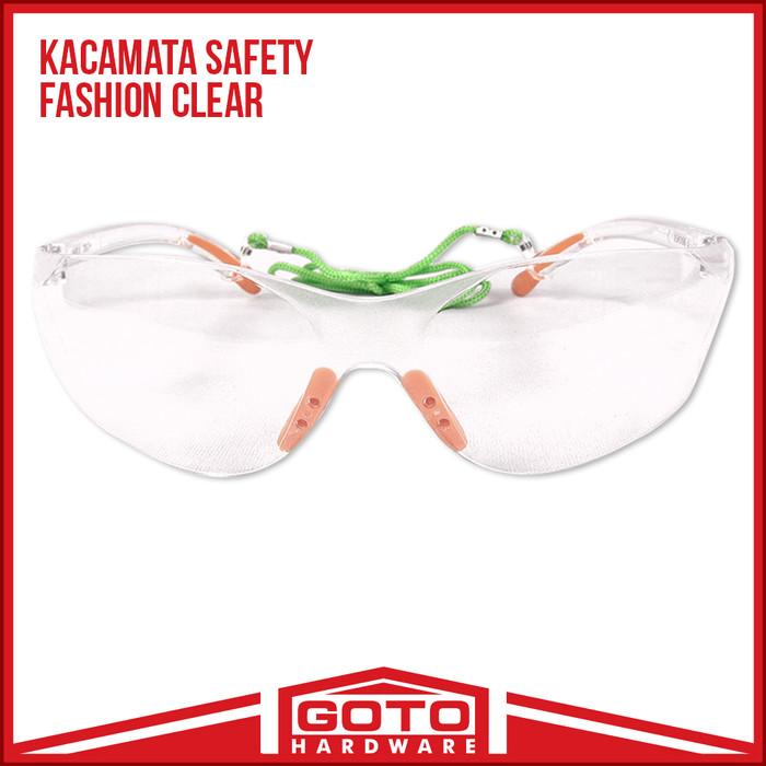 harga Kacamata safety fashion gaya gerinda google bening clear kaca mata Tokopedia.com