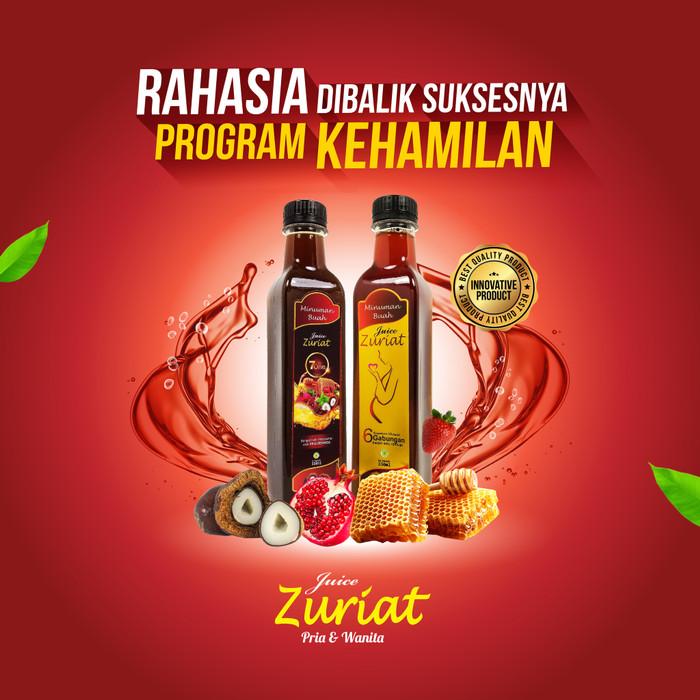 Foto Produk PROMO JUICE ZURIAT   Free Tumbler Menarik dari Pusat Nabawi Herbal