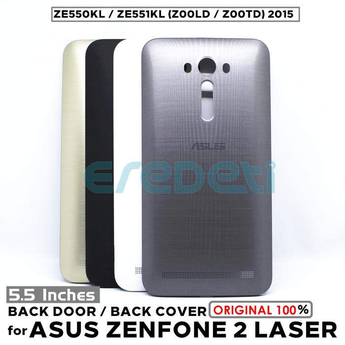 wholesale dealer d779d a91e6 Jual BACK DOOR BACK COVER ASUS ZENFONE 2 LASER ZE550KL ZE551KL Z00LD Z00TD  - Hitam - DKI Jakarta - EREDETI   Tokopedia