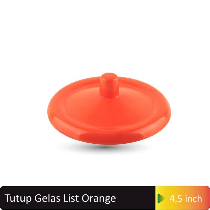harga Tutup gelas lis orange melamine glori g107or Tokopedia.com