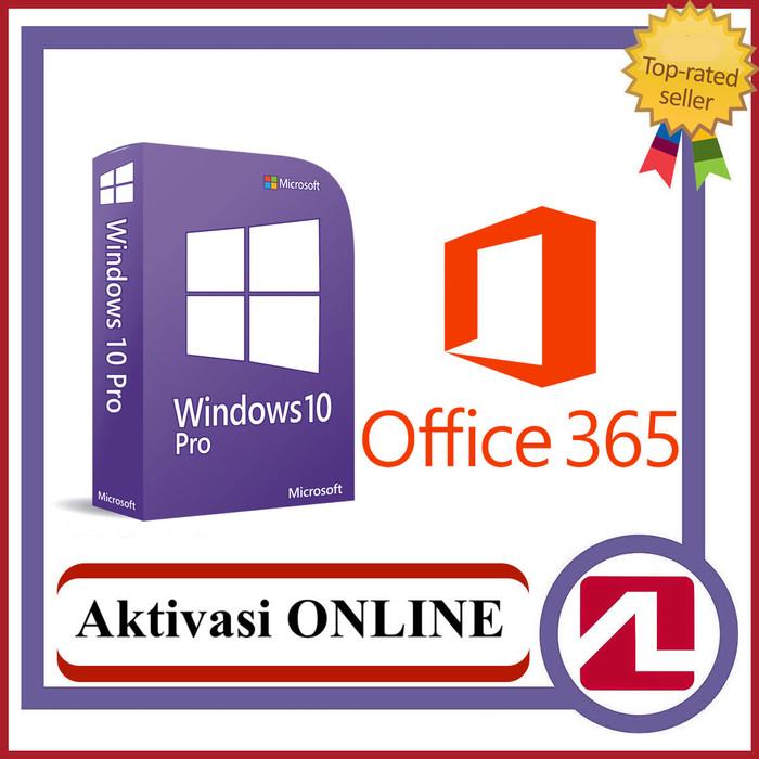 Jual PAKET Windows 10 Pro dan Office 365 Pro Plus Lifetime + 5TB Onedrive -  DKI Jakarta - Agen Lisensi | Tokopedia