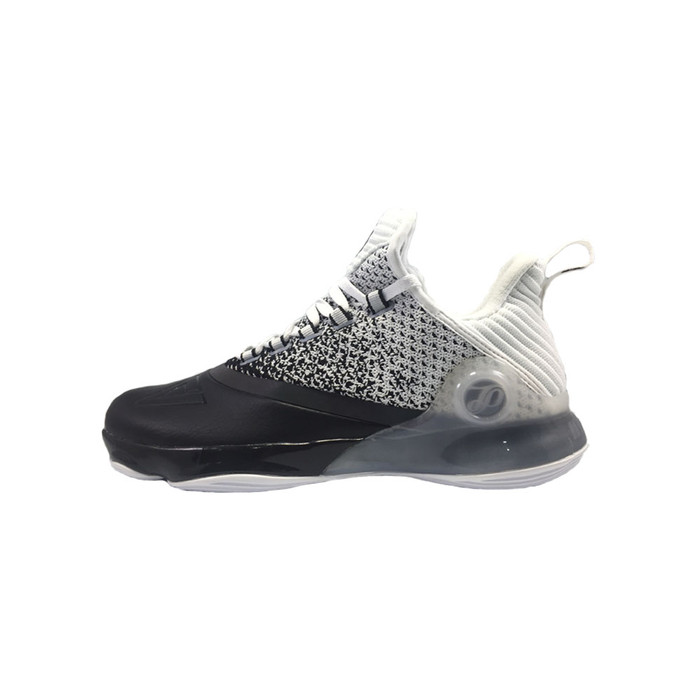 Peak Sepatu Basket Peak Tony Parker Vi White Black Dan Night Blue - E83323a - White Black 40
