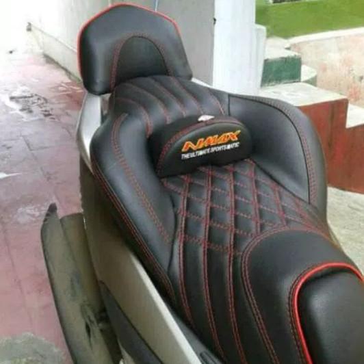 harga Jok nmax castum jok nmax untuk touring aksesoris motor nmax Tokopedia.com