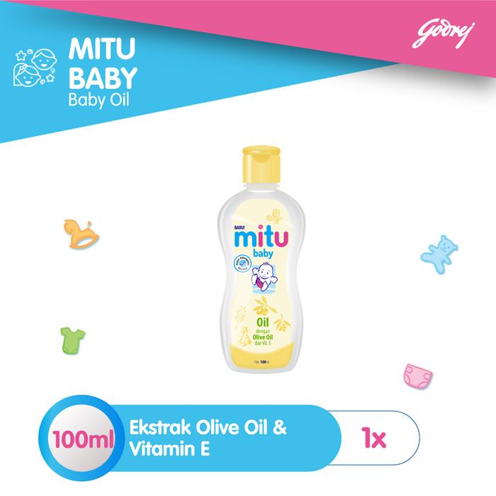 Foto Produk Mitu Baby Oil [Bottle 100ml] dari Mitu Indonesia