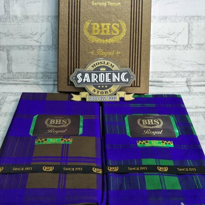 Foto Produk sarung Tenun BHS KDT Gold Royal sutra 50% dari Saroeng Store