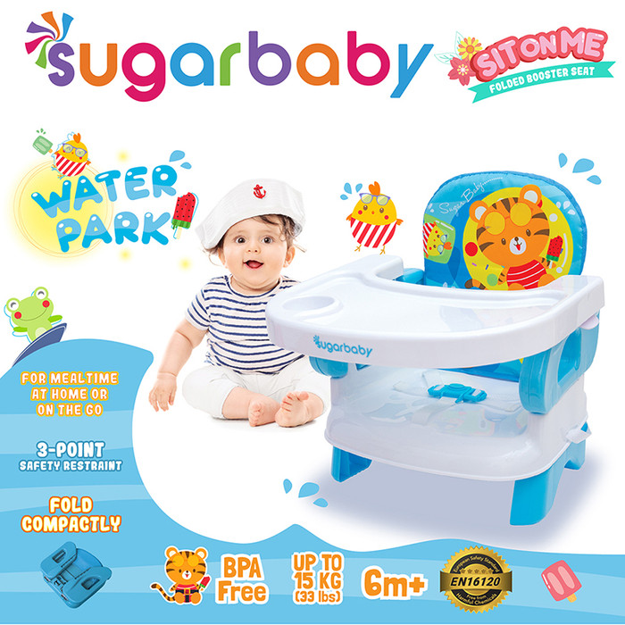Promo Sugar Baby Sit On Me Folded Booster Seat - Water ...