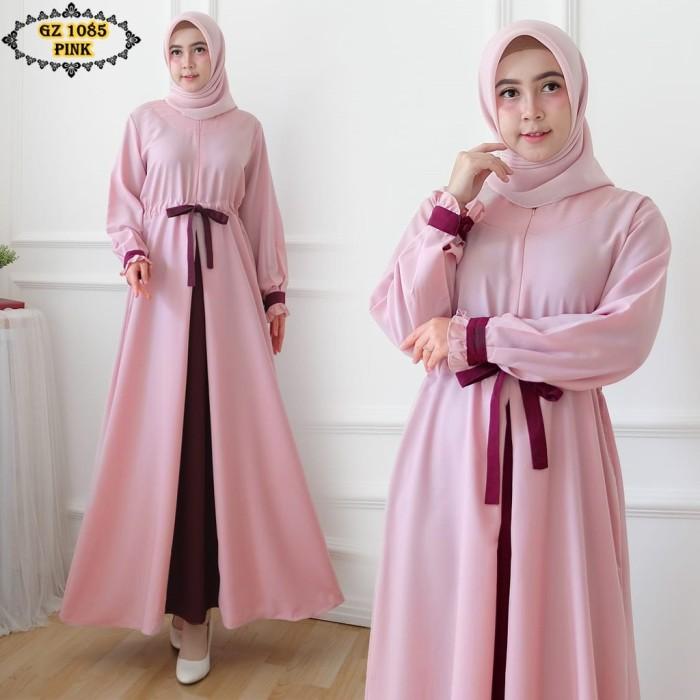 Jual Gamis Linen Gz1085 Pink Gamis Pink Gamis Kombinasi Jakarta Selatan Reyhansport Tokopedia