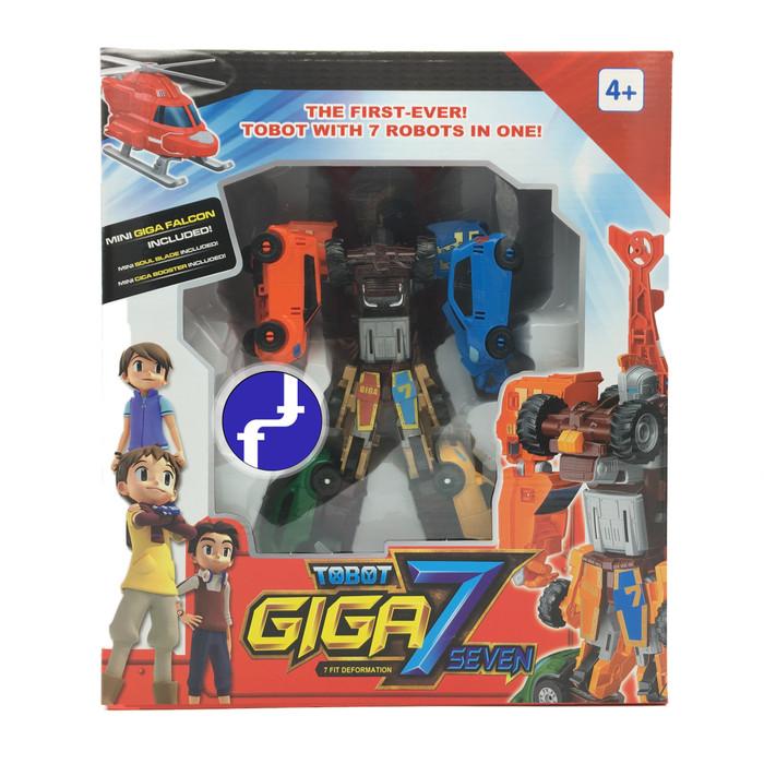 Foto Produk BESAR Mainan Anak Tobot GIGA 7 TOBOT SEVEN Robot Mobil Transformer 528 dari Toko-Ku by FAS-TOP