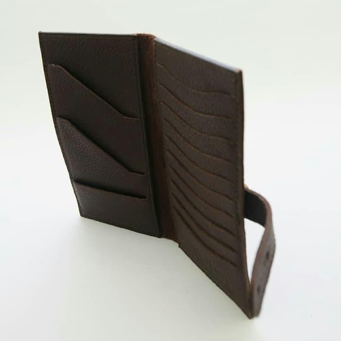 RFL genuine leather - Dompet kartu dan passport kulit asli genuine oil