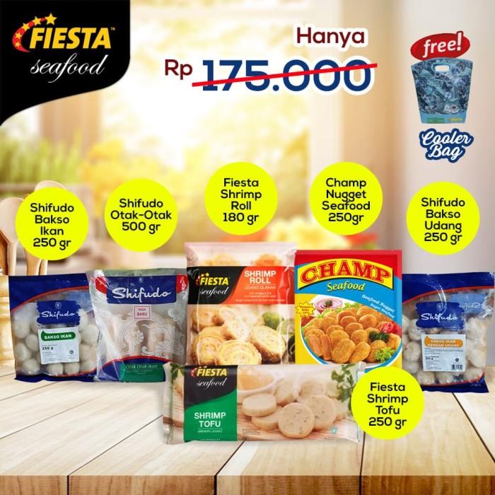 Jual Makanan Siap Saji Sefood Kota Bekasi Paket Fiesta Murah
