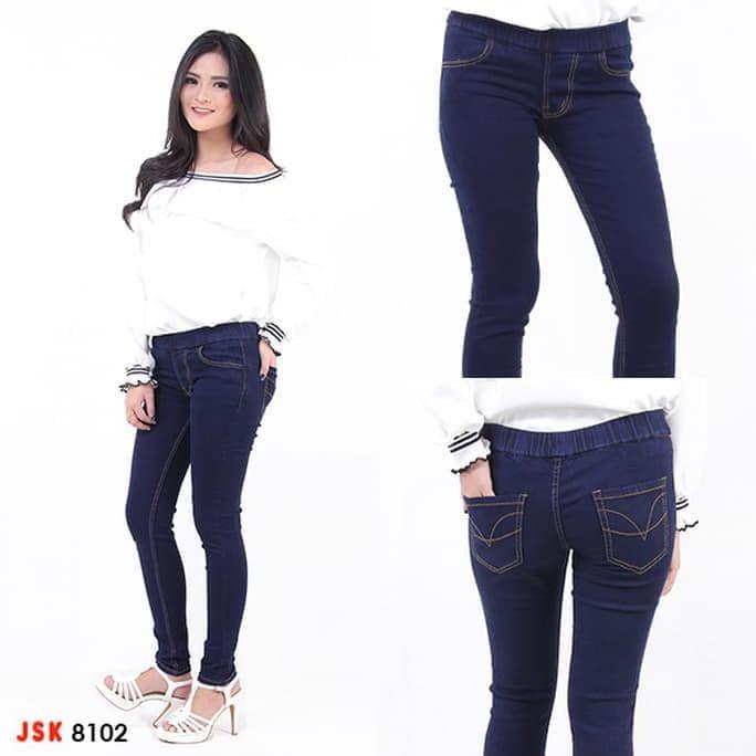 Jual Paling Baru Dan Termurah Big Size Celana Legging Jeans Wanita Pinggang Jakarta Pusat Lalawiyah Tokopedia