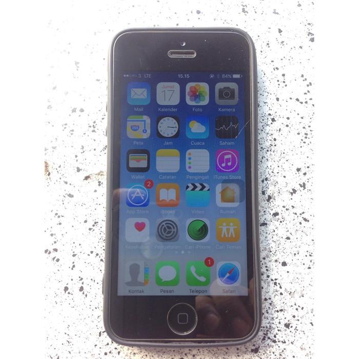 Foto Produk Apple Iphone 5G Black 16Gb dari Asean Word Shop