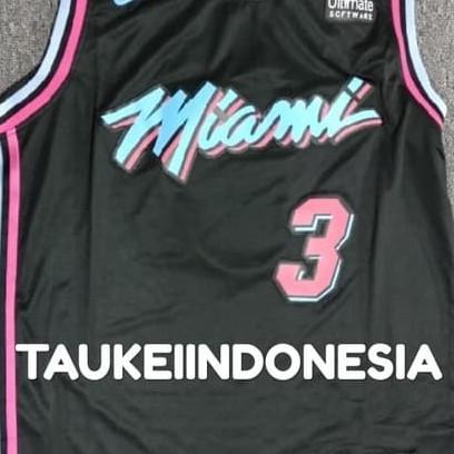 reputable site e736a 31568 Jual BASKET NBA JERSEY DWAYNE WADE MIAMI HEAT VICE CITY EDITION - DKI  Jakarta - TAUKEI INDONESIA | Tokopedia