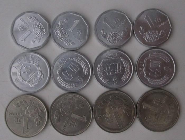 Gambar Uang Koin 100 China Jual Uang Koin Kuno Lama Jadul 1 Yuan 1 5 Jiao China Kota