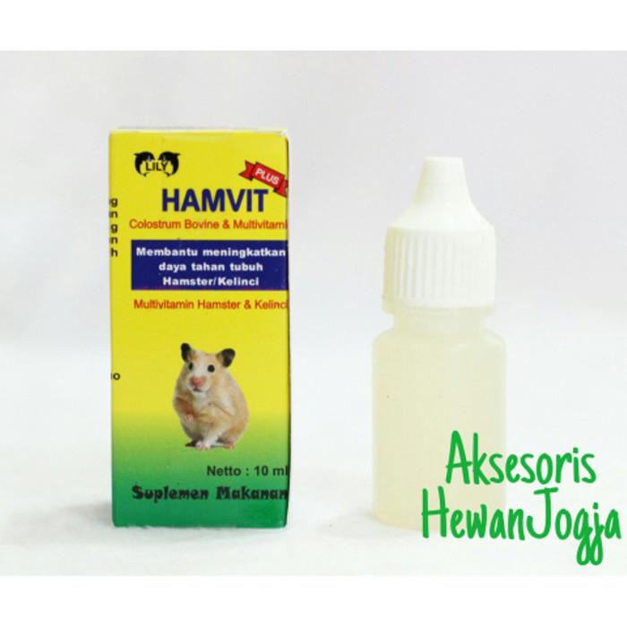 Jual Hamvit Multivitamin Hamster Landak Mini Kelinci Aksesoris