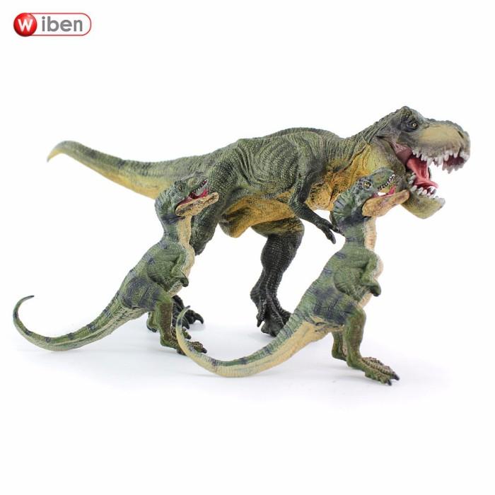 Jual Wiben 3pcs Lot Jurassic Tyrannosaurus Rex T Rex Dinosaur Toys Animal Kota Bekasi Adi Shop Store Tokopedia